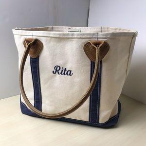 Rita bag made by LL Bean in USA.